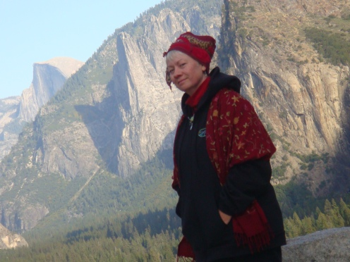 Judy O in Yosemite